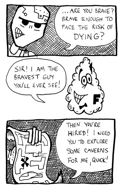 The Bravest Guy You'll Ever See
