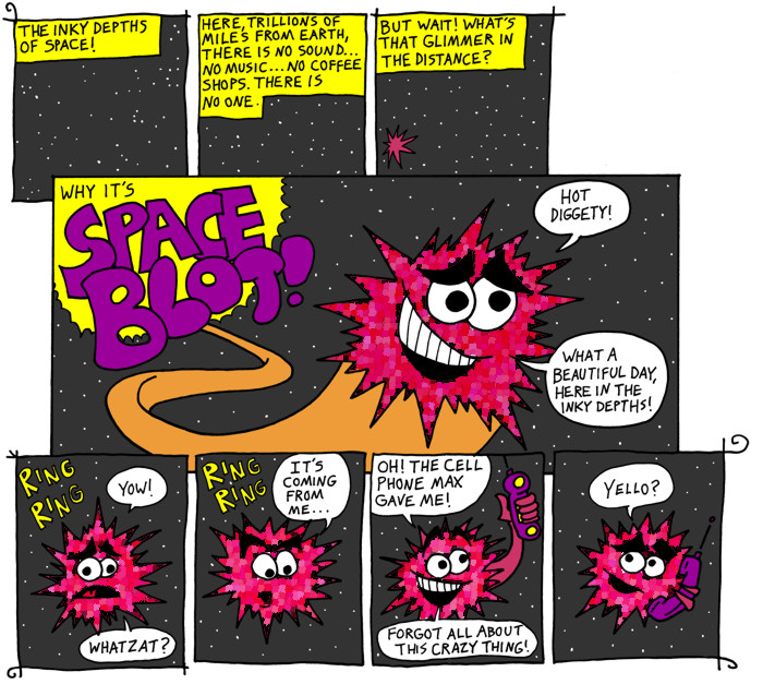 SPACE BLOT!