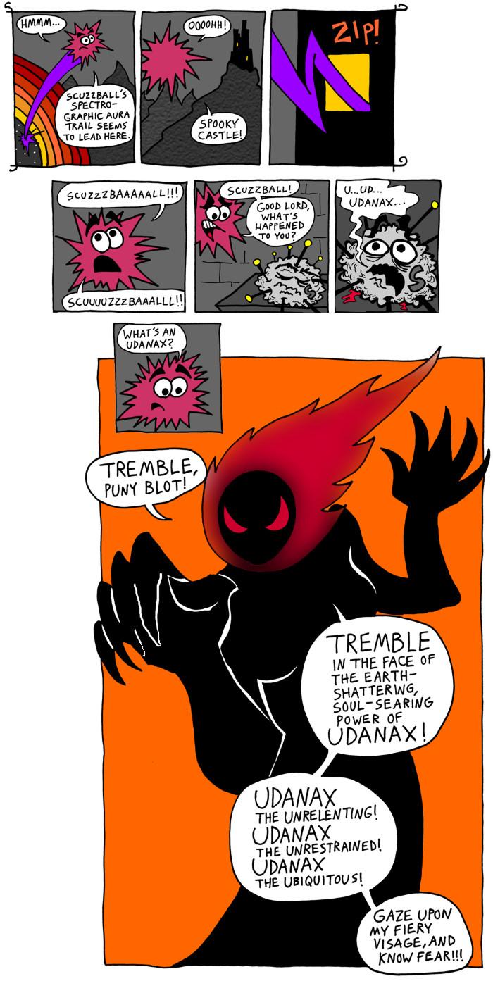 TREMBLE, Puny Blot!