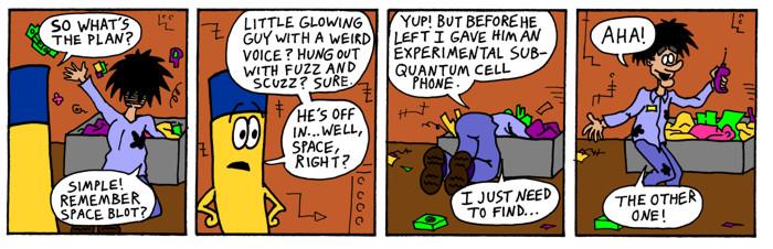 Sub-Quantum Cell Phone
