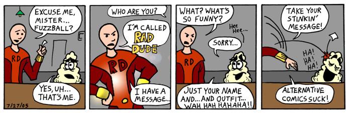 Fuzzball Meets Rad Dude