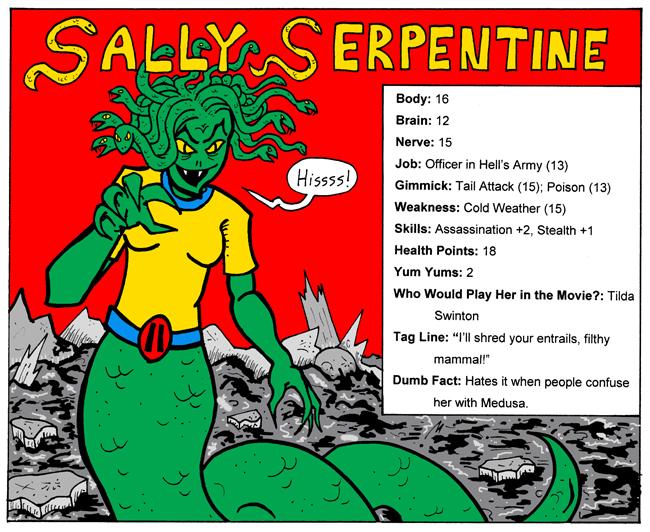 Sally Serpentine